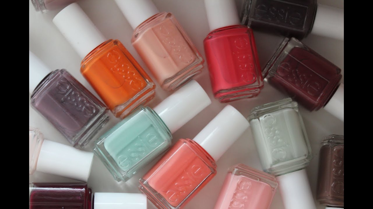 Essie Nail Polish Collection | ViviannaDoesMakeup - YouTube