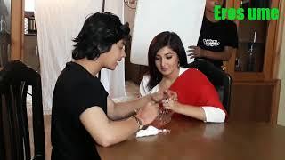 New nepali video ft.paul shah aachal sharma making fun