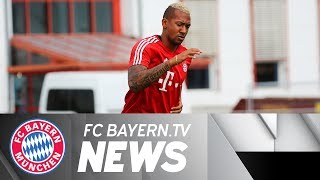 Jerome Boateng back in FC Bayern training