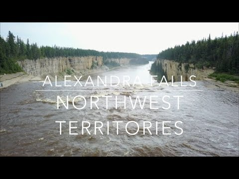Alexandra Falls, Northwest Territories, Canada