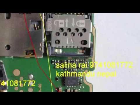 Nokia 110 Display light Jumper Solution