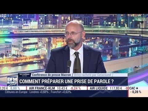 Conférence de presse d'Emmanuel Macron : Frédéric Fougerat évoque ce temps de communication