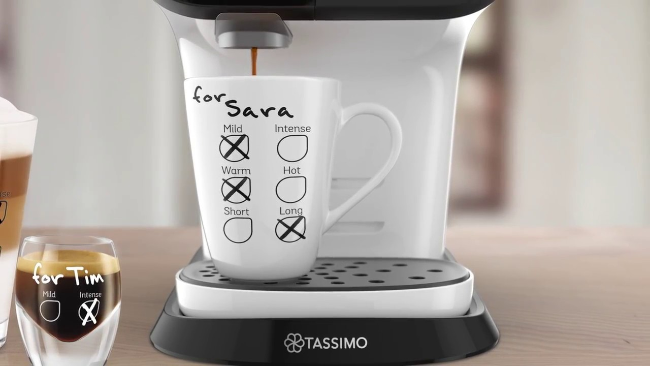 tassimo my way de bosch 27 mani res de r aliser votre espresso youtube. Black Bedroom Furniture Sets. Home Design Ideas