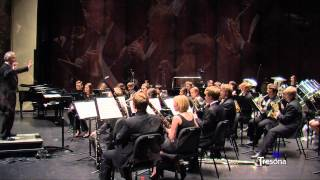 UNC Wind Ensemble - Symphony in B Flat, Mvt III, by Paul Hindemeith