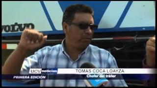 Trujillo: Conductor muere tras chocar su vehículo contra tráiler