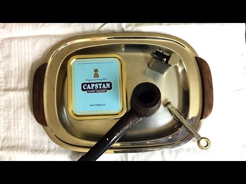 Pipe Tobacco Review: Capstan