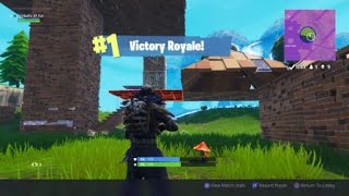 Fortnite Battle Royale - Accidental Victory Part 2 - I Was only Going For The Knome