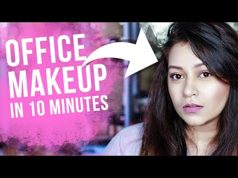 EASY AND QUICK OFFICE MAKEUP || EVERYDAY MAKEUP TUTORIAL || INDIAN SIN