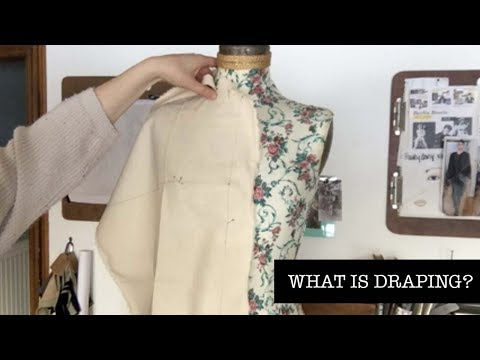 What is Draping? | FASHION FRIDAY