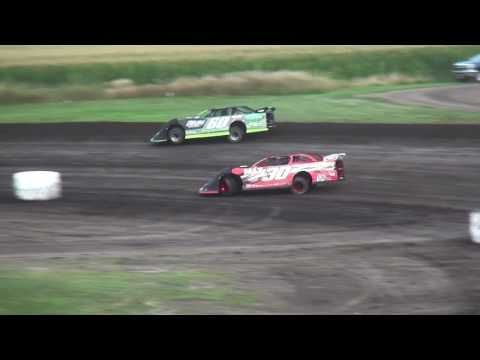 IMCA Late Model feature Benton County Speedway 8/6/17