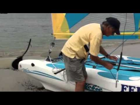 Hobie 16 mast stepping - Multihull Anarchy - Sailing Anarchy