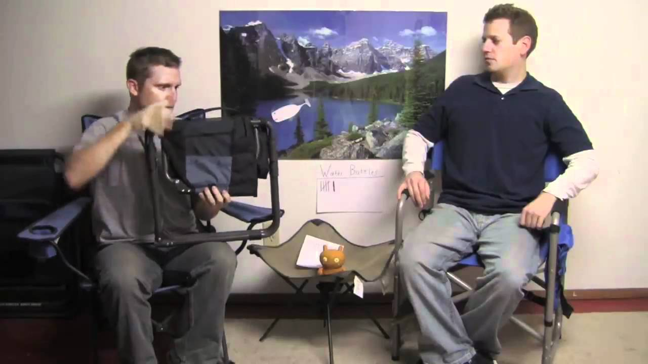 gci outdoor express camp chair camping gear tv 141 youtube