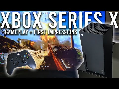 Xbox Series X Gameplay and First Impressions