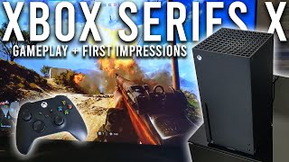 Xbox Series X Gameplay and Fir…
