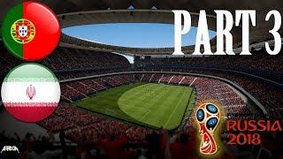 PORTUGALSKO VS. ÍRÁN | FIFA 18 - World Cup Russia #3