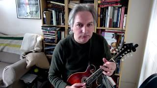 The Little Diamond (polka) on mandolin
