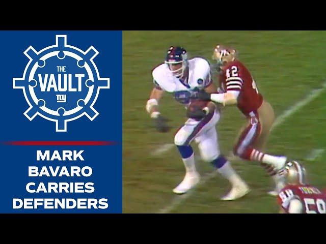 Mark Bavaro Carries 49ers Defenders on HIS BACK! (1986) | New York Giants Highlights