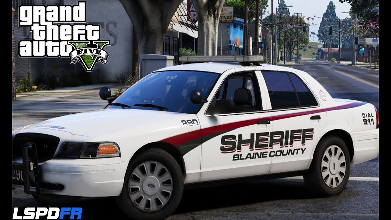 GTA V - LSPDFR - Trevor Phillips Gets Arrested - Blaine County Sheriff Pack  - Episode 42