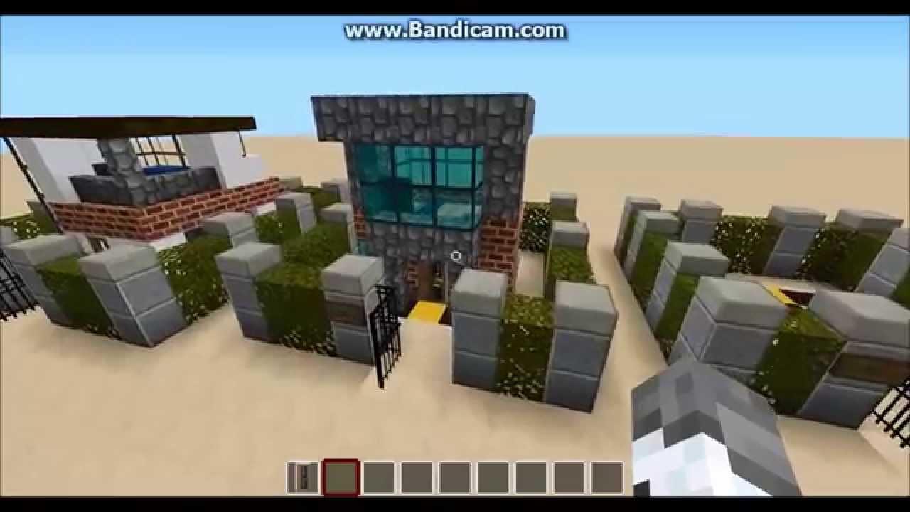Minecraft X Modern House YouTube - Minecraft modern house 5x5