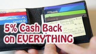 5% Cash Back On Everything