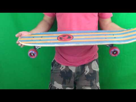 kryptonics skateboard demo