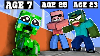 Poor Baby Creeper - Sad Minecraft Animation