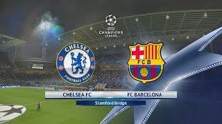 Champions League 2018: OCTAVOS de FINAL | Chelsea vs FC Barcelona | PES 2018