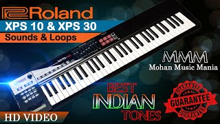 Roland xps 10 Best Latest Indian patches Demo Lefty