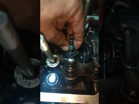 Замена сальников клапанов на ВАЗ