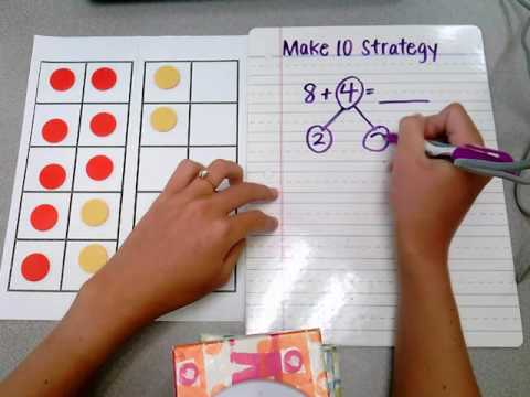 making ten lesson plans first grade