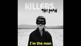 The Killers   The Man (lyrics)