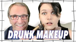 My Dad Does My Makeup - Drunk! 🥃💄