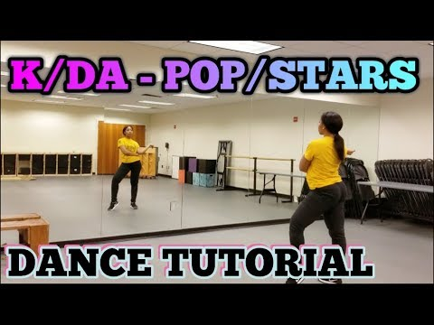 K/DA - 'POP/STARS' DANCE TUTORIAL PT.1