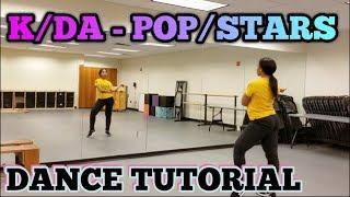 K/DA - 'POP/STARS' DANCE TUTORIAL PT.1