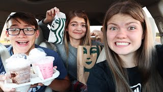"""Trying Starbucks For The First Time - The """"Elders"""" Are Back Together!!"""