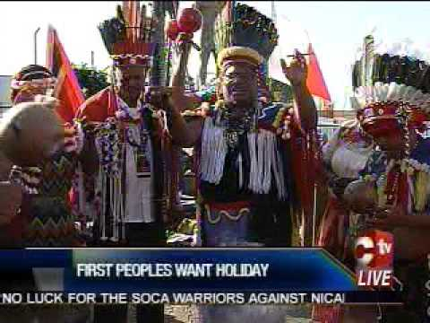 FIRST PEOPLES WANT HOLIDAY:
