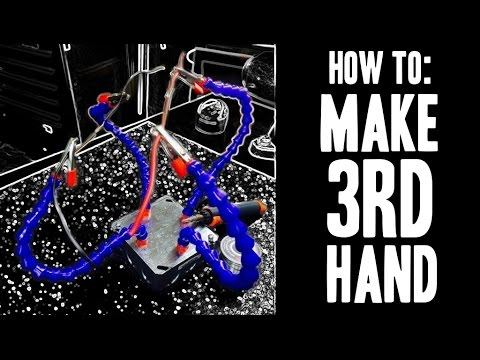 """How To : Make a 3rd Hand (Soldering) aka """"Helping Hands"""""""