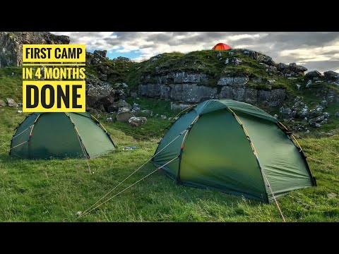 WILDCAMPING IN THE NORTHUMBERLAND HILLS