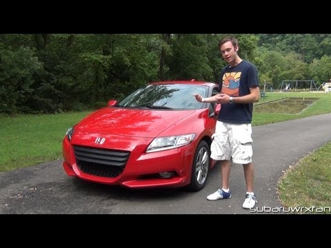 Review 2012 Honda CR Z