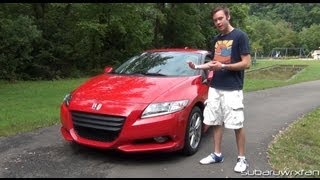 Review 2012 Honda CR Z