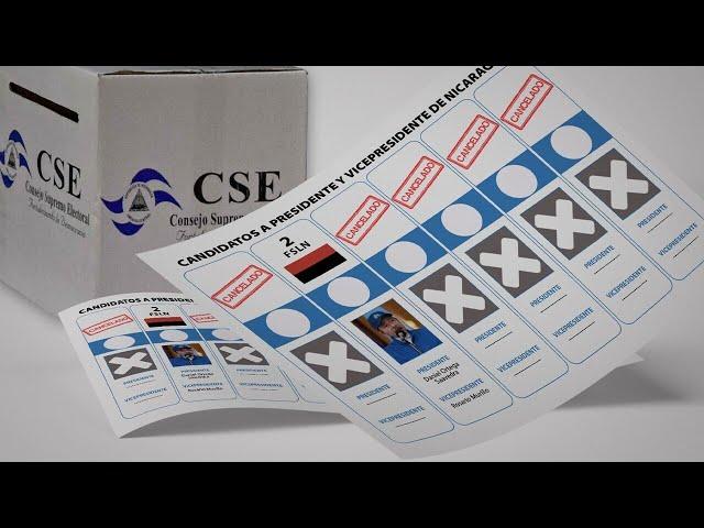 Elecciones Nicaragua: Daniel Ortega el único candidato del FSLN