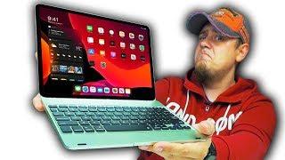 это Apple iPad MacBook! Клавиатура для iPad, Которая Превратит Его в Ноутбук (Не совсем...)