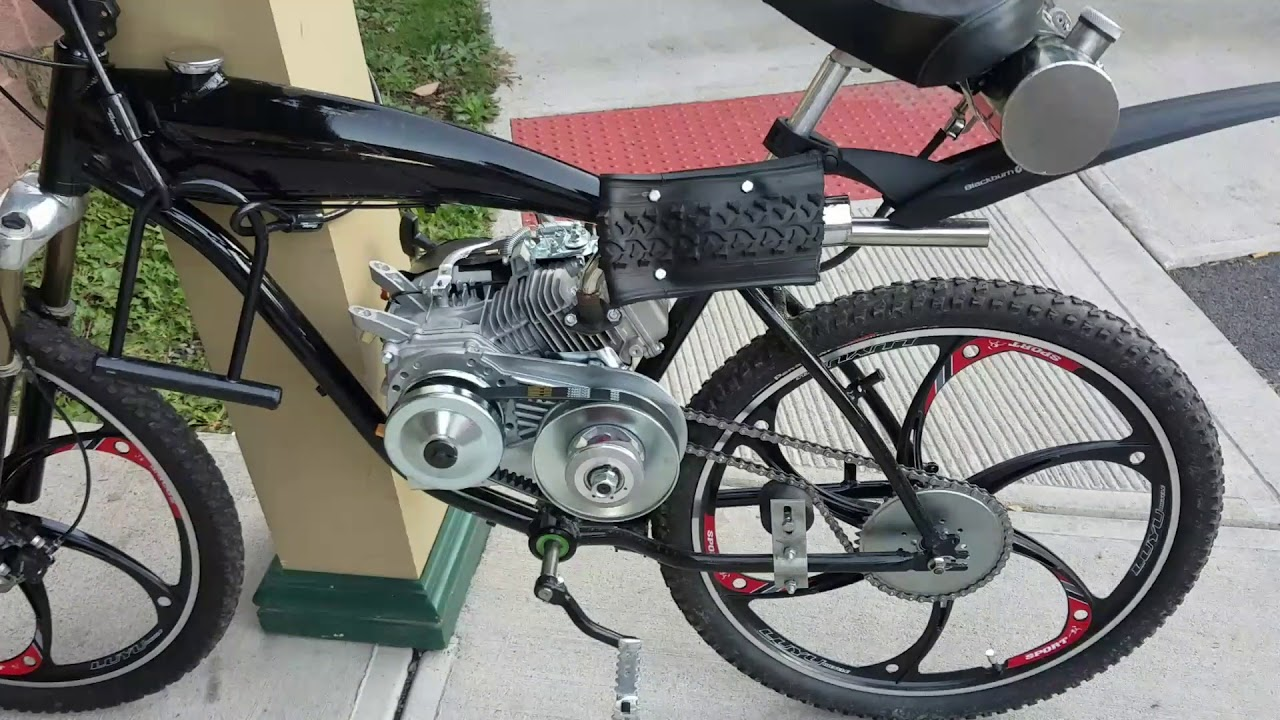 212cc Motorized Bicycle Bbr Aluminum Frame