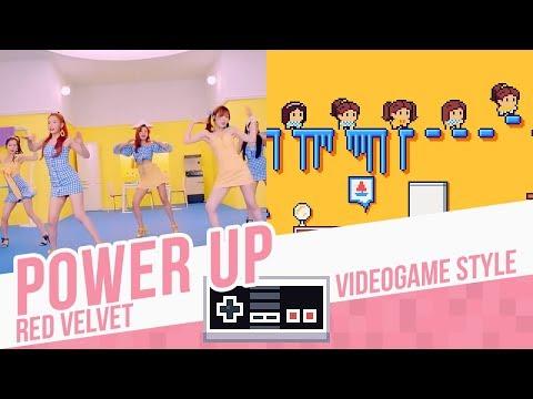 POWER UP, Red Velvet - Videogame Style - 8 Bits