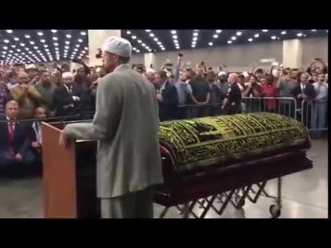 Imam Zaid Shakir Speech at Muhammad Ali Janaza & Entrance ...