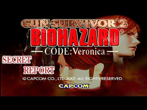 GUN SURVIVOR 2 BIOHAZARD CODE:Veronica SECRET REPORT ©CAPCOM Resident Evil