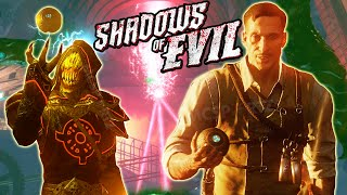 "Black Ops 3 Zombies FULL EASTER EGG - ""Shadows of Evil"" Easter Egg Guide (BO3 Zombies Easter Egg)"