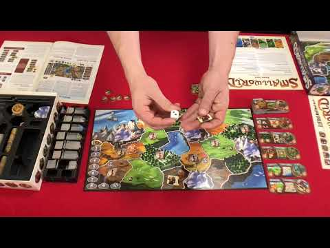 Ready, Set, PLAY - Small World Setup And Gameplay