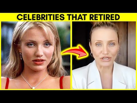Top 10 Celebrities You Didn't Know Retired