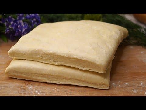 Как приготовить слоеное тесто в домашних условиях рецепт с видео